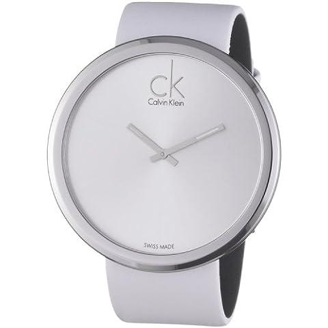 Calvin Klein subtle K0V23120 - Reloj de mujer de cuarzo, correa de piel color blanco