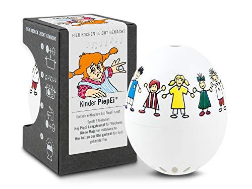 Brainstream Kinder PiepEi, Eieruhr zum mitkochen, Spielt 3 Melodien für 3 Härtegrade, A004619
