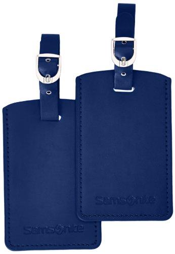 Samsonite 52972/1041 Set di 2 etichette per valigie Blu