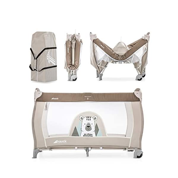 Lettino da Campeggio Hauck Babycenter Friend Hauck Brand: Hauck. Folds very easily and very quickly Travel bed with changing table, ideal for changing babies 7