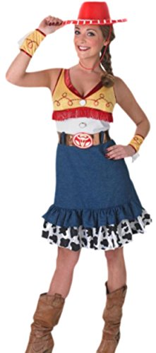 Halloweenia - Damen Cowgirl Wild Wild West Kostüm , L, - Old West Kostüm Damen