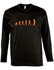 EVOLUTION - Golf Sport - Herren Langarm Longsleeve T-Shirt S-XXL
