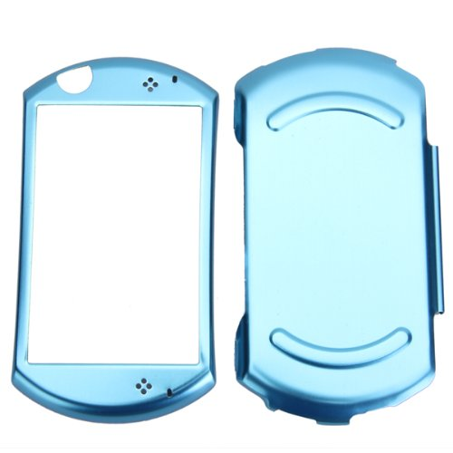 Imported Aluminum with Flannel Protective Hard Case Cover for Sony PSP GO - Blue  available at amazon for Rs.325
