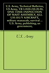 U.S. Army, Technical Bulletins, US Army, TB 1-1520-210-20-50, ONE TIME INSPECTION OF MAST ASSEMBLY, ALL UH-1H/V AIRCRAFT, military manauals, survival books, ... U.S. Army, publishing, us government,