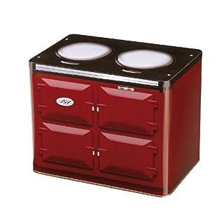 Aufbewahrungsdose, mit AGA Ofen-Design, Zinn, Rot