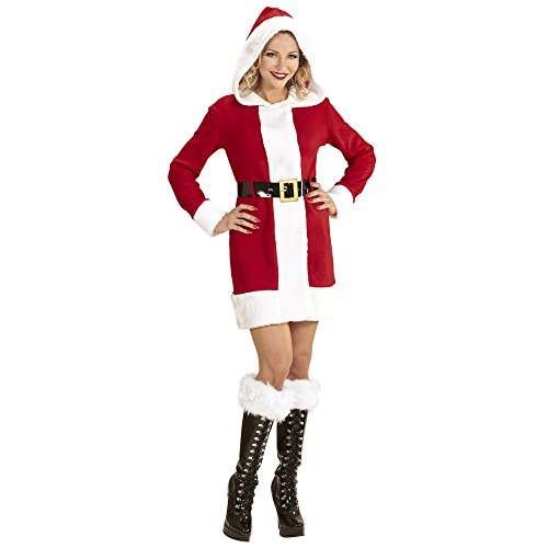 WIDMANN Adultos Disfraz Santa Claus Lady