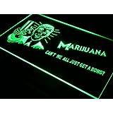 ADV PRO j015-g Marijuana High Life Get a Bong Neon Light Sign Barlicht Neonlicht Lichtwerbung