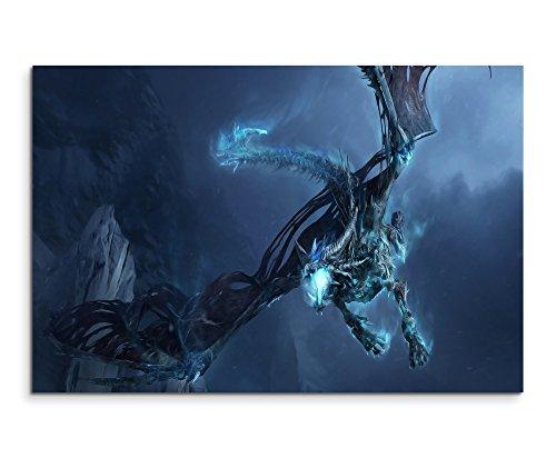 World of Warcraft – Ice Dragon Wandbild