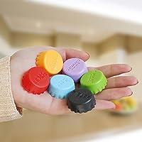 Macxy - 12pcs / Lot Küche Mehrfarbige Silikon-Knopf Bier-Wein-Korken-Plug Kronkorken Abdeckung Perfect Home Kitchen... preisvergleich bei billige-tabletten.eu