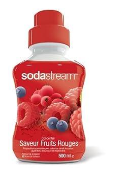 Sodastream Concentré Sirop Saveur Fruits Rouges pour Machine à Soda 500 ml