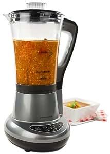 Andrew James Soup Maker 7 in 1 - Smoothie Maker, Blender, Coffee / Nut Grinder, Ice Crusher, Steamer, Egg Boiler, 700W