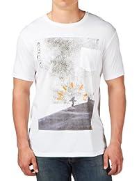 Quiksilver D8 T-shirt à manches courtes et poche pour homme