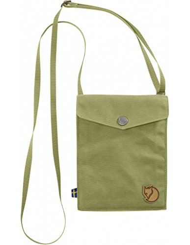 Fjällräven Pocket Schultertasche, Meadow Green, 18 x 14 x 3 cm