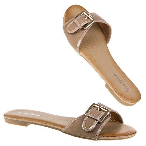 Ital-Design - Sneaker Donna Marrone (marrone)