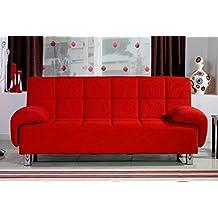Amazon.it: divano letto rosso