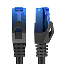 KabelDirekt - 30m Ethernet, Network, Lan & Patch Cable (transfers Gigabit internet speed & is compatible with Gigabit networks, Switches, Routers, Modems with RJ45 port, blue) | 627