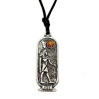 Shu Ägyptische Sternzeichen-Anhänger Aquarius Fische 26 Jan - 24 FEB Schnur Halskette
