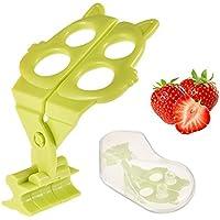 Todaytop Tijeras para Comidas Bebés Cortadores para Verduras y Frutas para Bebés Recién Nacidos