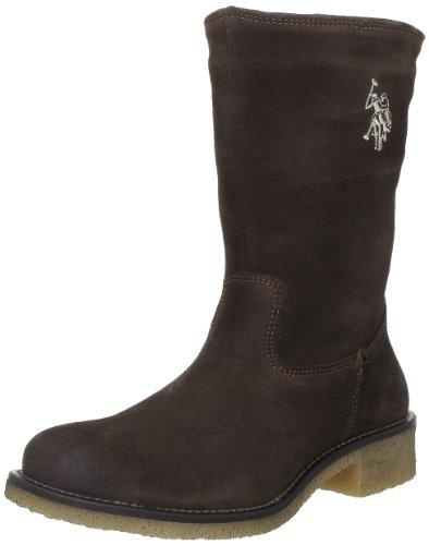 US Polo Assn Corinna, Boots femme Marron (Dkbr)