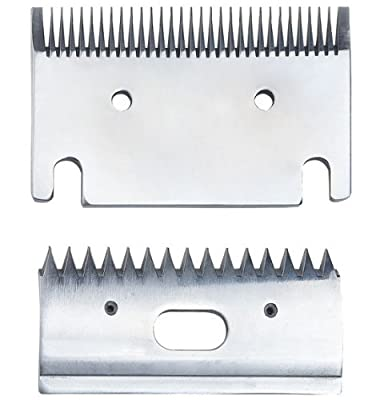 Replacement Heavy-Duty Fine 1mm Horse Clipper Blades. Fit Heiniger, Liveryman, Aesculap, Masterclip from GTS