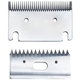 Replacement Heavy-Duty Fine 1mm Horse Clipper Blades. Fit Heiniger, Liveryman, Aesculap, Masterclip Replacement Heavy-Duty Fine 1mm Horse Clipper Blades. Fit Heiniger, Liveryman, Aesculap, Masterclip 41ek6v0hFML