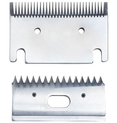 Clipex - Lame di ricambio per tosatrici medie da 3 mm Pettine e contrapeine per l'equitazione - AG/CH-CAB