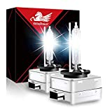 WinPower D1S Xenon Bulb 35W Headlight Discharge Lamp Replace HID Kit 12V Car Bulbs 6000K Ice White X-treme Light, 1 Pair