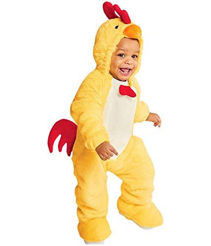 Unbekannt Baby Plush Chicken Halloween Costume Jumpsuit 0-6 Month