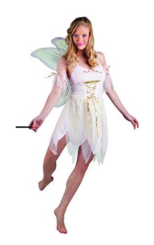 hsenenkostüm Lady Fairy, Größe 40/42, mehrfarbig (Elfen Fairy Kostüm)