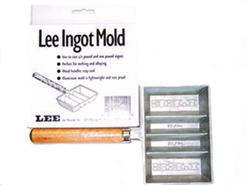 Lee Precision 4 Cavity Ingot Mold 90029 [Sport]