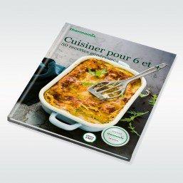 Livre Thermomix Cuisiner pour 6 et + - Vorwerk - édition TM5 par Vorwerk