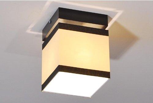 Designer Decken Leuchte Lampe Retro Deckenleuchte Schlaf Zimmer E27 Power LED Paris 15a (Sockelfarbe: Natur) (15a Lampe)