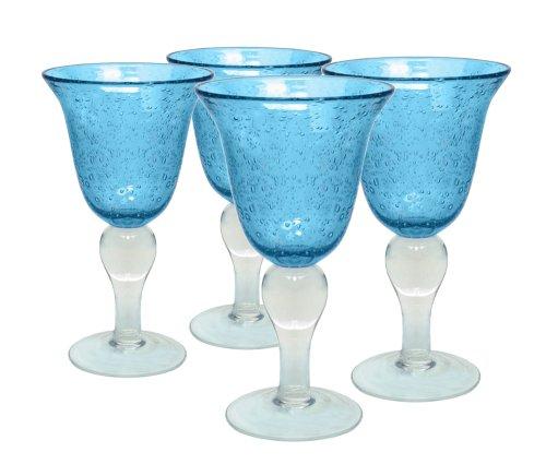 Artland Iris Doppel Altmodische Brillen, Bernstein, Set 4 Kelch türkis