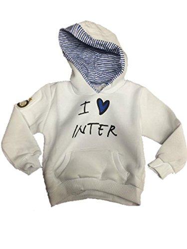 Felpa baby inter abbigliamento ufficiale Fc Internazionale neonato *00060-12/15 mesi