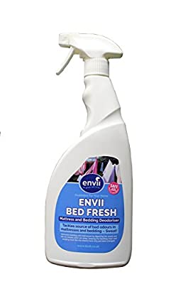 Envii Bed Fresh - Mattress and Bedding Deodoriser, Freshener and Cleaner Spray