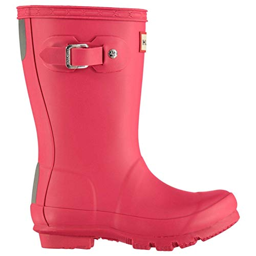 Hunter Original Little Kids Wellington Boots Infants Girls Pink Wellies Gum Boot