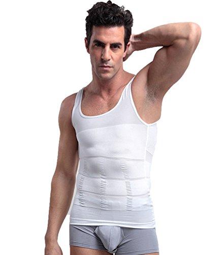 Snellente gilet uomo shapewear dimagrante plasmatore,shapewear multifunzionale per uomo, canotta a compressione nello stomaco,canotta contenitiva uomo snellente modellante fascia piatta dimagrante