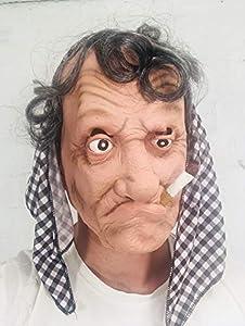 ANTIGUO GITANO Mujer Bruja Máscara