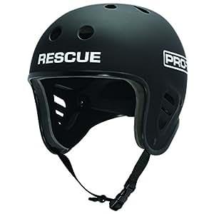The Water Rescue Helm Fullcut Pro-Tec Black Rubber Black Size: 56-58 cm