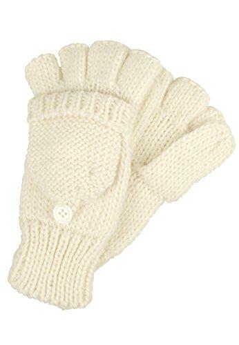 Capelli New York Damen Handschuhe 'Happy Winter', Groesse:OS, farbe:pristine ivory