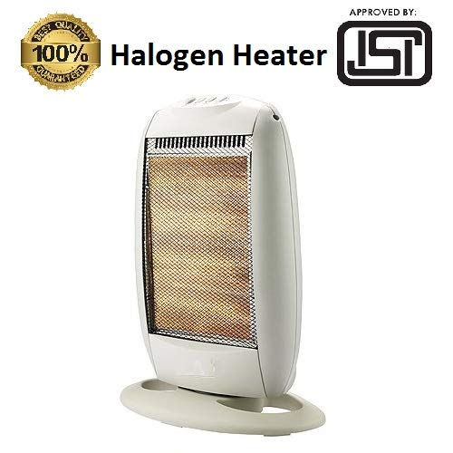 FAVY LAURELS Room HALOGEN HEATER with 3 Heating Element & Settings | 220-230v 50/60hz 1200w ||K-001