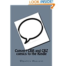Convert CBR and CBZ comics to the Kindle