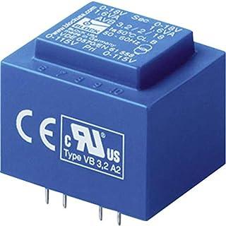 Block AVB 2,3/2/9 Printtransformator 2 x 115 V 2 x 9 V/AC 2.30 VA 127 mA