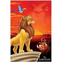 Disney König der Löwen Figur Timon Pumba Wildschwein Erdmännchen Kuchen Deko