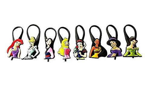 AVIRGO 8 pcs Soft Zipper Pull Charms for Backpack Bag Pendant Jacket Set # 92-3