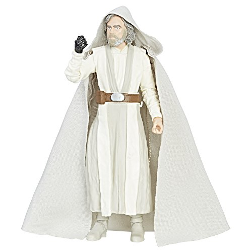 Star Wars Figura de Luke Skywalker (Maestro Jedi), de la Black Series (episodio 8), 15cm