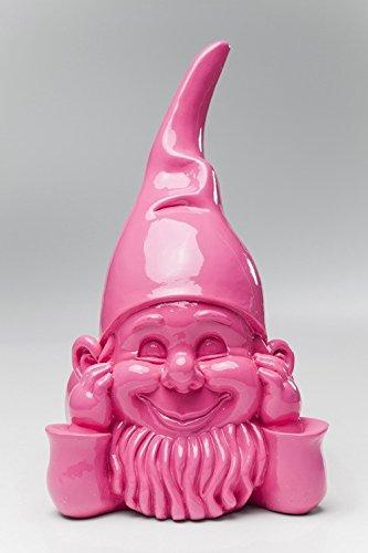 Witziger Gartenzwerg Gnom Chill out KARE pink - 2