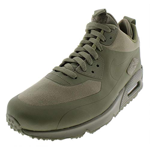 Nike Mens Air Max 90 Sneakerboot Patch Steel Green Trainer Size 7 UK