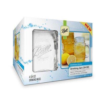 24Oz Trinken Tasse (12Stück) [Set von 4] Vintage Pilsner Set