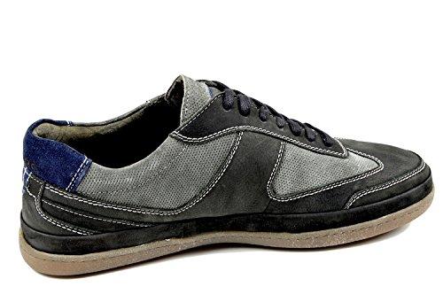 Scarpe Da Donna Callum 1.261.01-29 Sneaker Da Uomo, Stringate, Sottopiede Di Ricambio Nero / Grafite Nero